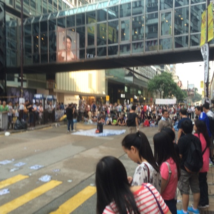 Canton Road Occupy Protest