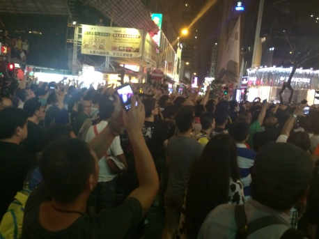 Occupy Mong Kok - 11.30PM October 3, 2014